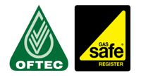 oftec and gas safe logos